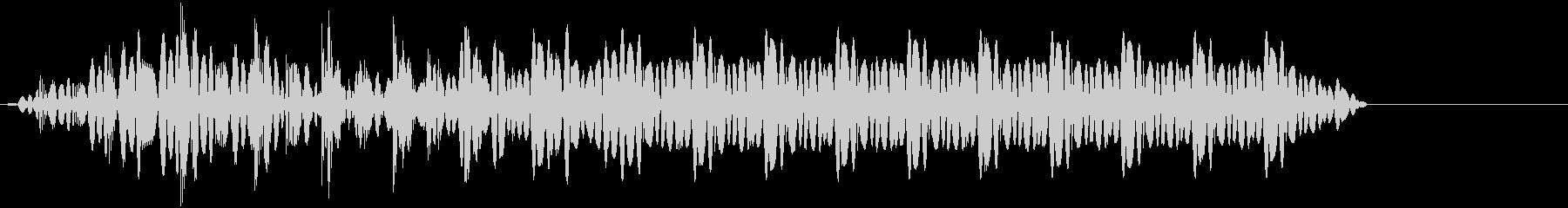 ビー!(超音波/レーザー/電子音/ブーの未再生の波形