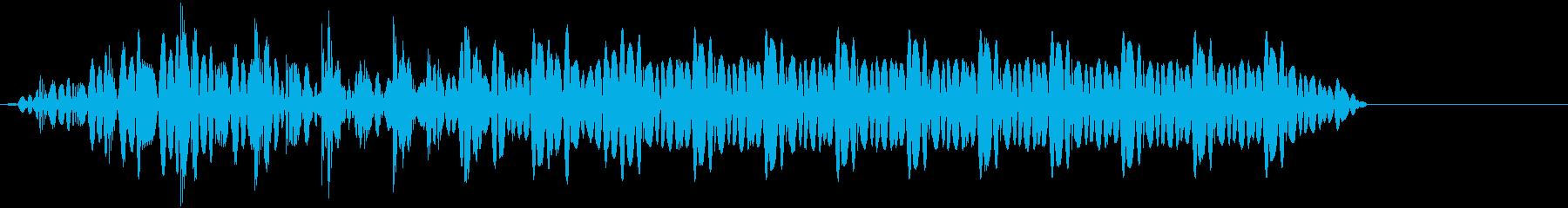 ビー!(超音波/レーザー/電子音/ブーの再生済みの波形