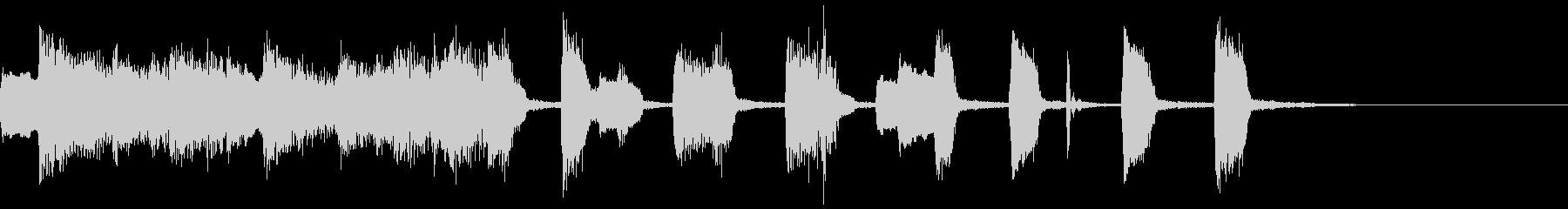 ピアノ・ジャズ・ポップ・ドラム・ジングルの未再生の波形