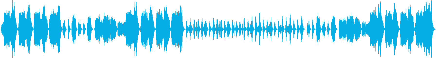 Classical and beautiful ballad's reproduced waveform