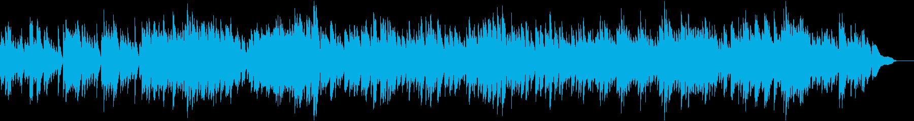 バッハ_インヴェンション第7番_ピアノの再生済みの波形