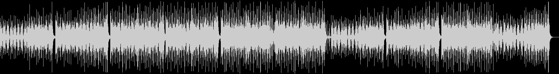 のんびり楽しいレゲエポップ:無メロディ弦の未再生の波形