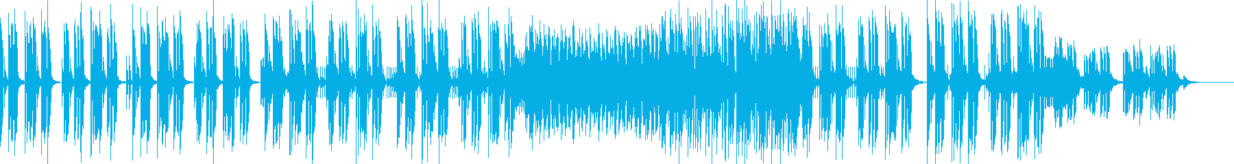 ★ほのぼのしたかわいいフューチャーベースの再生済みの波形