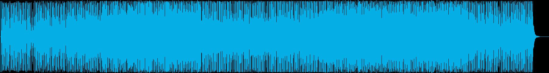 明るくポジティブなシンセポップ-軽快の再生済みの波形