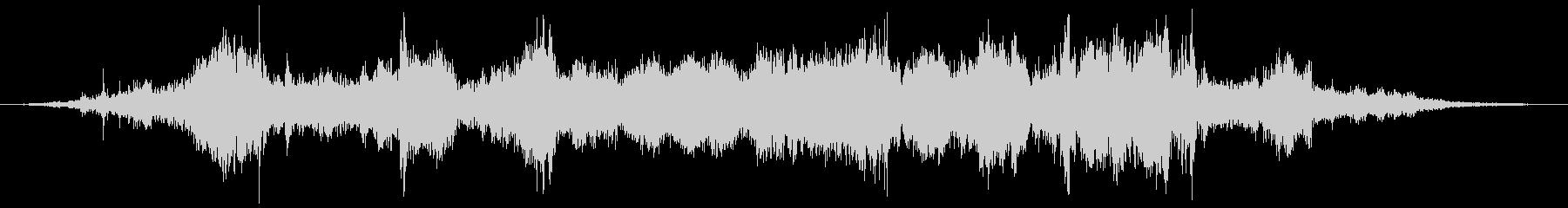 モトアクセラレータ0〜10の未再生の波形
