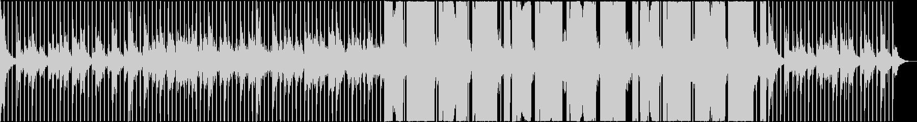 くつろぎ、ゆったりとしたヒーリングの未再生の波形