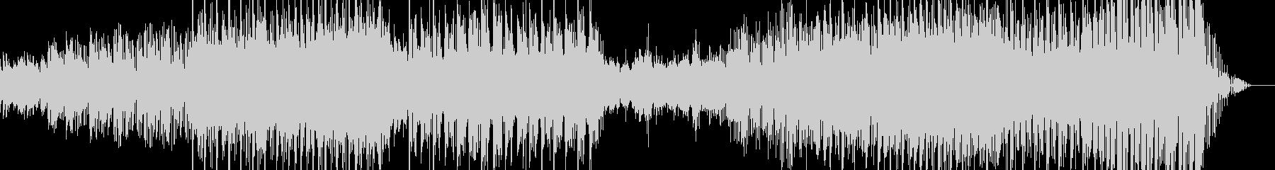 ラウンジ系音楽ー雨傘の未再生の波形
