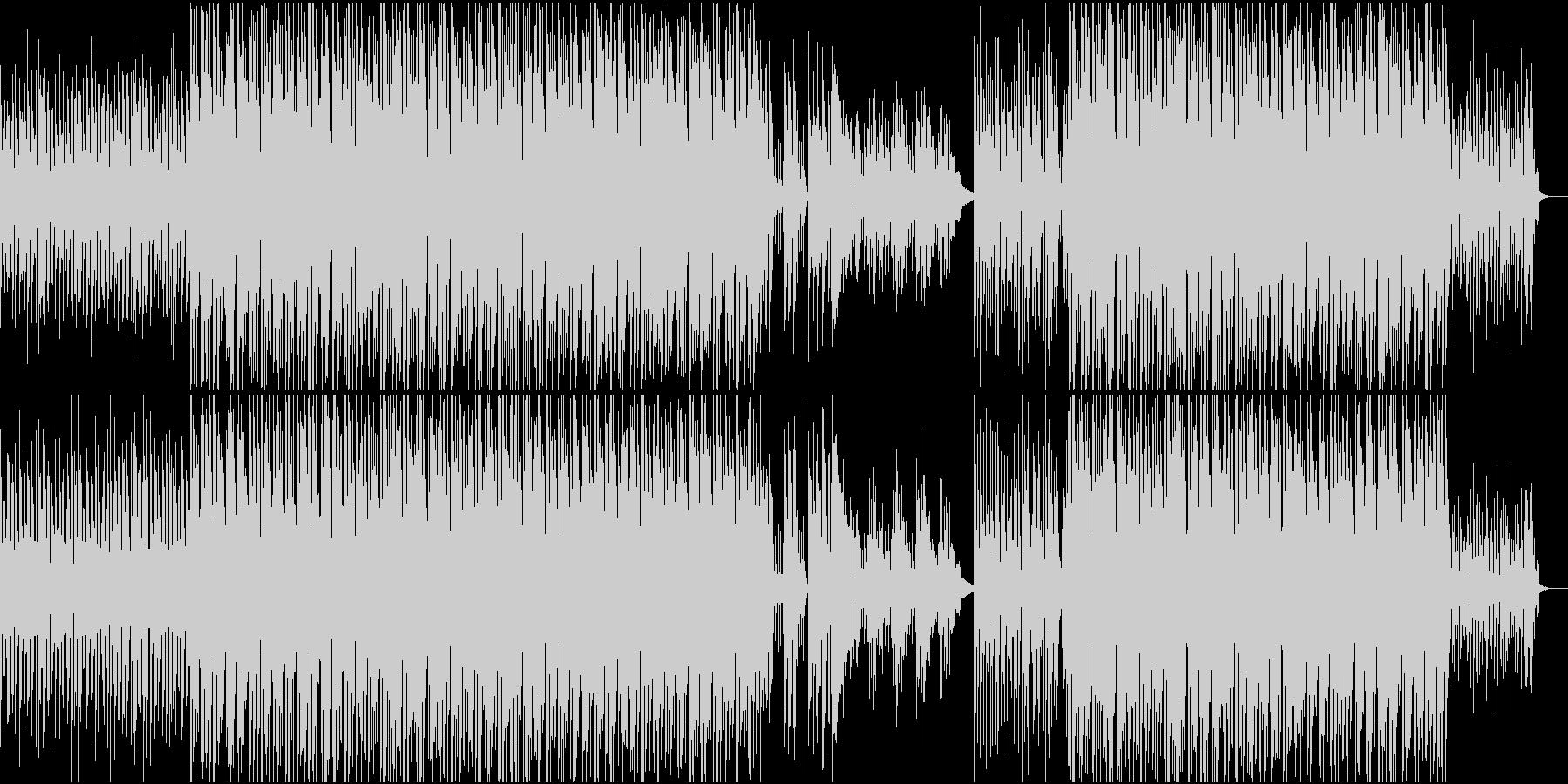 キュートでレトロなモダンサウンドの未再生の波形