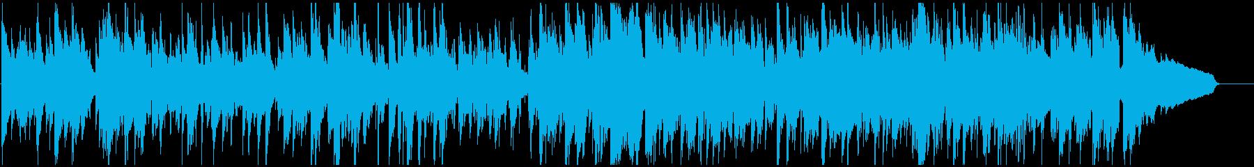流れるような雰囲気の綺麗系ジャズ・ワルツの再生済みの波形