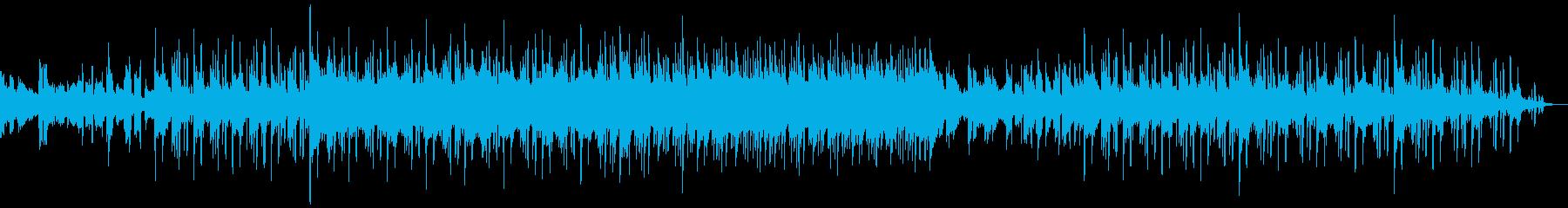 アンニュイでお洒落な感じのBGMの再生済みの波形