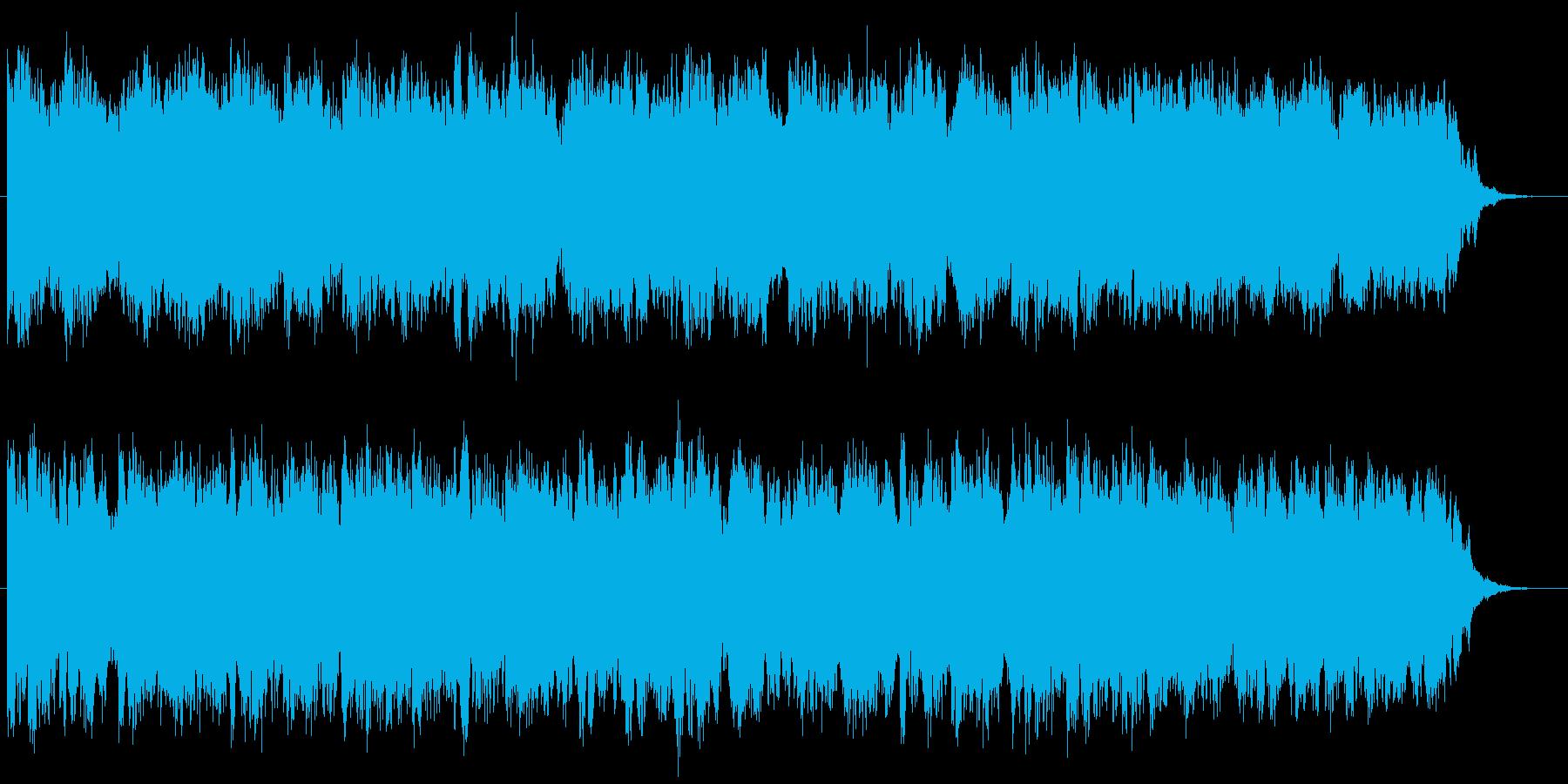 【生演奏】尺八と箏の童謡風アンビエントの再生済みの波形