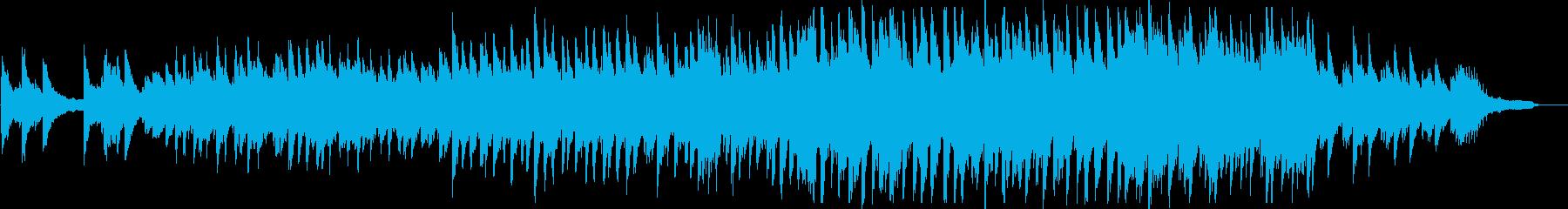 感動・バラード・ピアノ・映像・イベント用の再生済みの波形