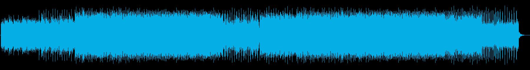 ゲームのラスボス戦風の幻想的なEDMの再生済みの波形