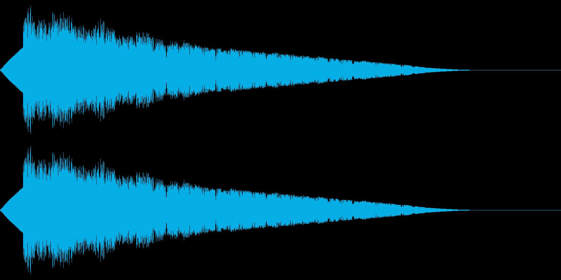 ピヨピヨピー(ファミコン/ワープ/宇宙の再生済みの波形