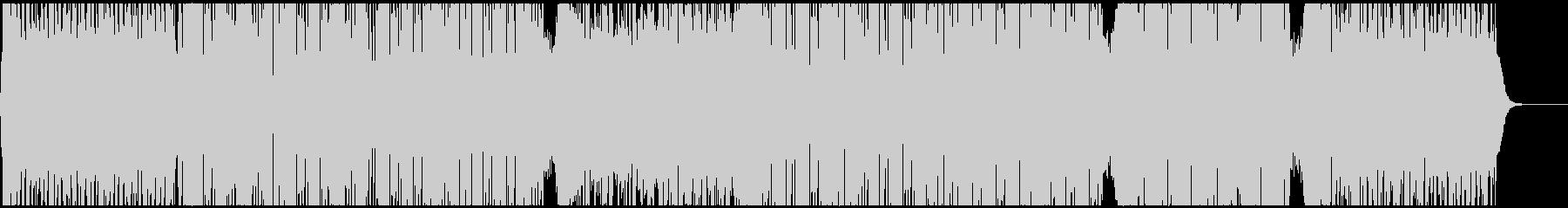 前向きでノリの良いEDMハウス CM映像の未再生の波形