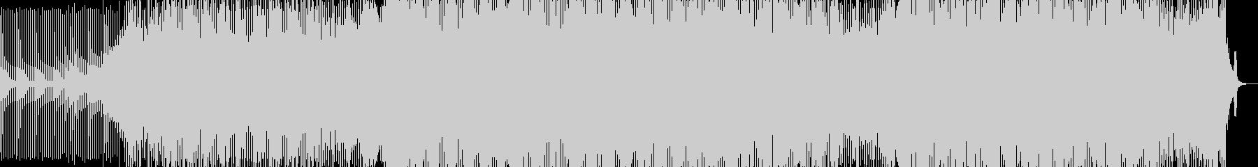 疾走感溢れる、カッコいいアシッドテクノの未再生の波形