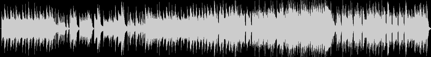 小粋なジャズ・AOの未再生の波形