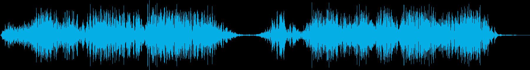 モンスター 怒り 03の再生済みの波形
