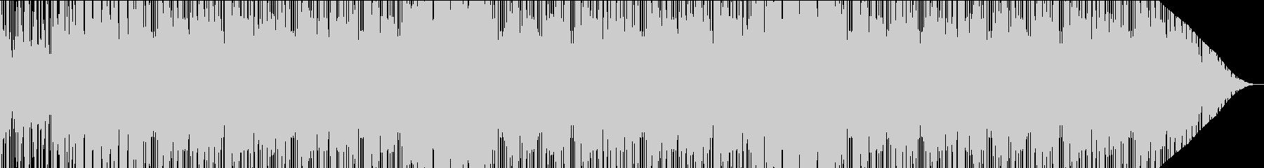 ダークな雰囲気のシューティング的EDMの未再生の波形