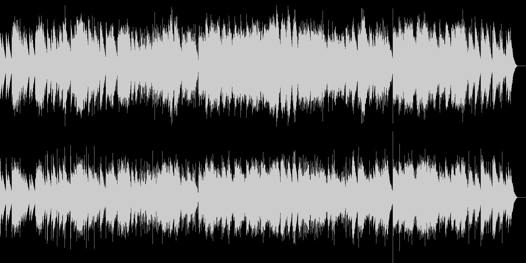 小組曲 3.メヌエット(オルゴール)の未再生の波形