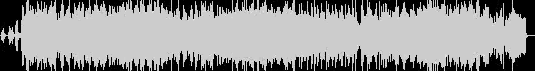 オシレータシンク活用の和風インスト曲の未再生の波形