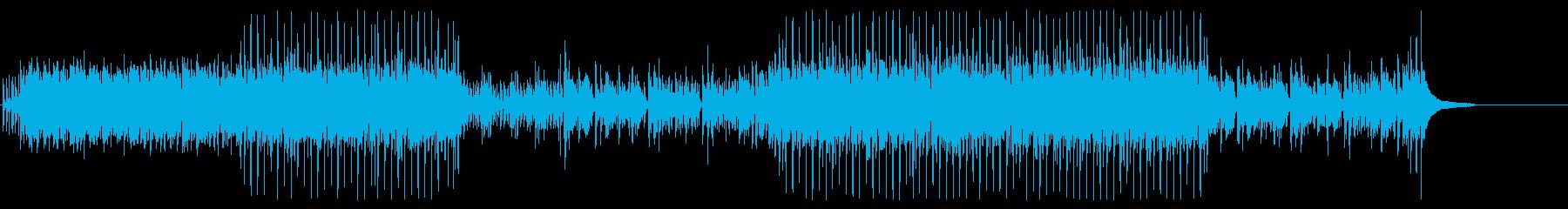 キラキラでかわいいアコギと鉄琴の再生済みの波形