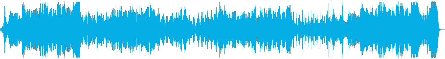 ハリウッド風ファンファーレとマーチ:Bの再生済みの波形