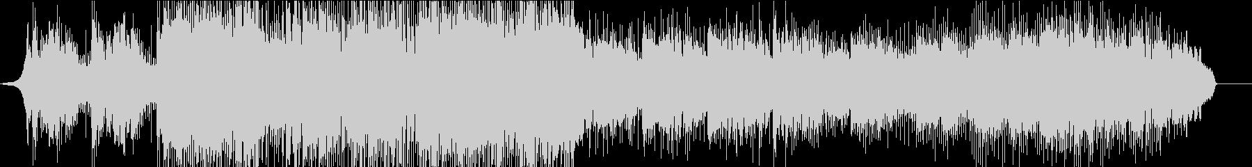 ネイティブ英語UKロック メランコリーの未再生の波形