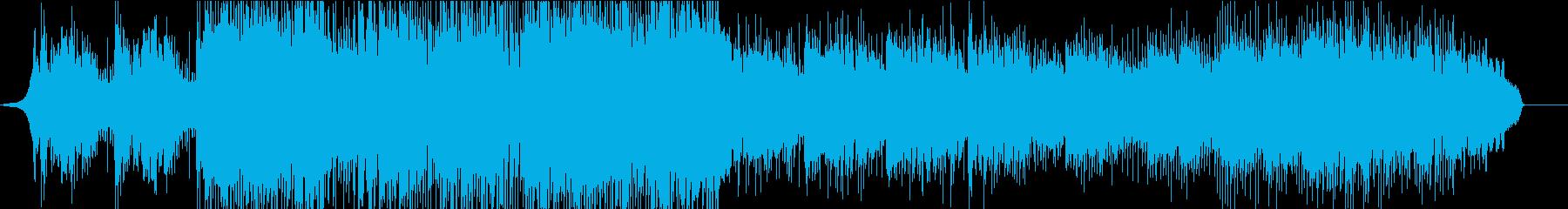 ネイティブ英語UKロック メランコリーの再生済みの波形