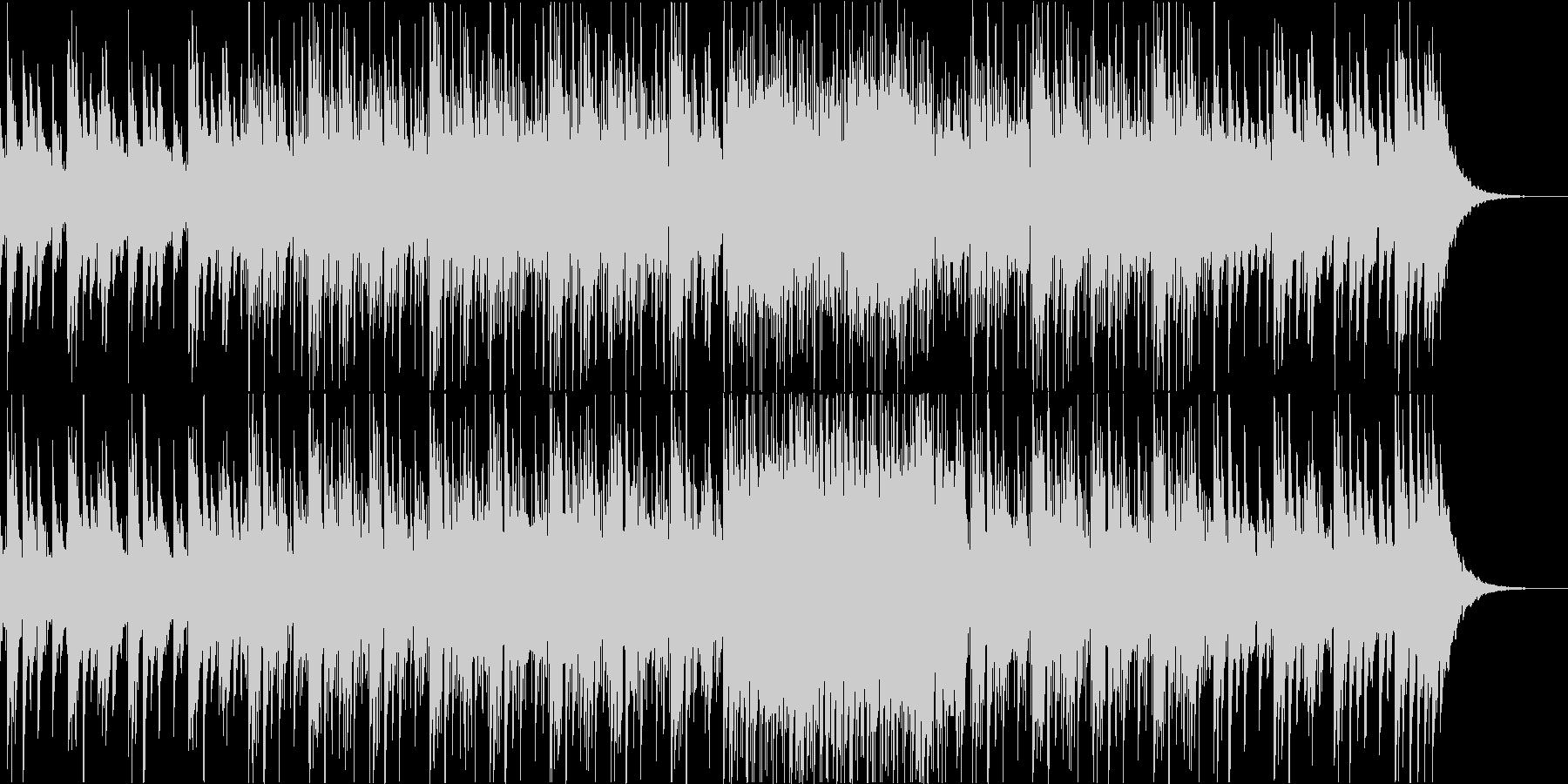 悲しげなピアノフレーズ+フルートの未再生の波形