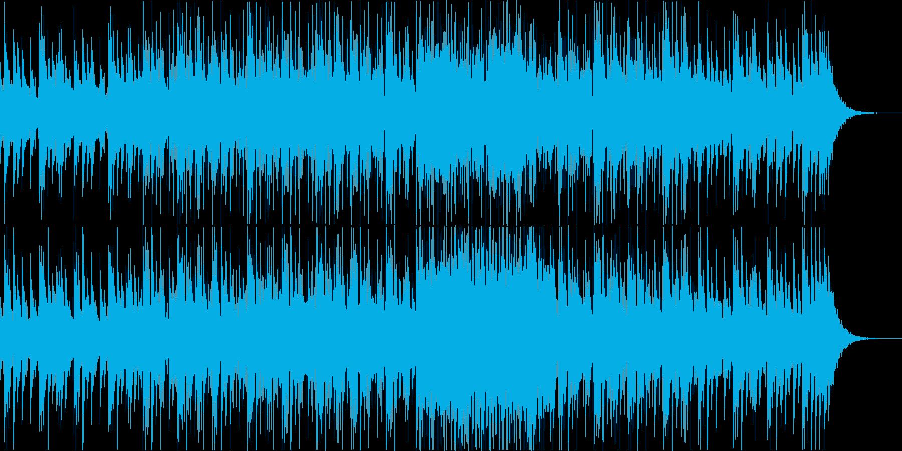 悲しげなピアノフレーズ+フルートの再生済みの波形