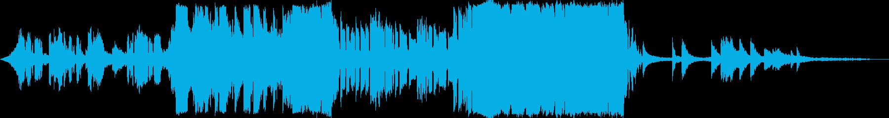 映画トレイラー風シネマティックロック洋楽の再生済みの波形