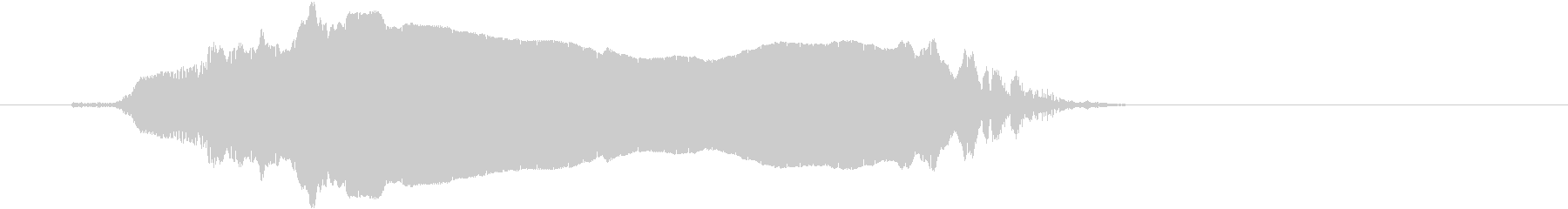 女性-スクリームの未再生の波形