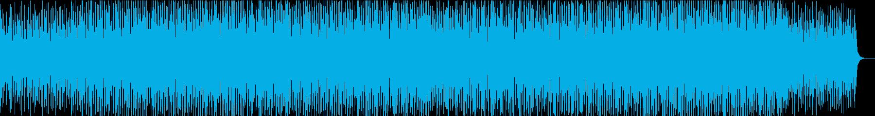 おしゃれでキラキラなエレクトロポップの再生済みの波形