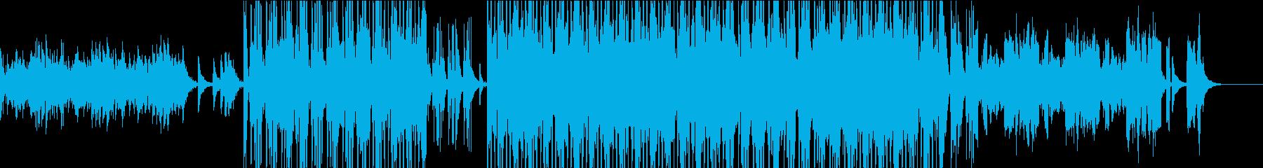 ピアノ・テクノ・ポップなエレクトロの再生済みの波形