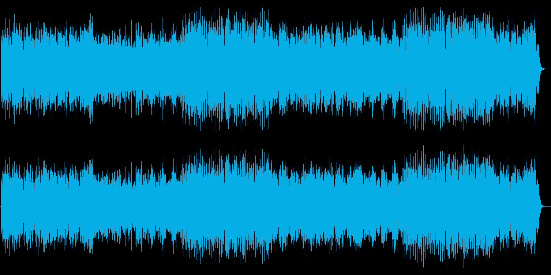 フェアリーテイルのダンス、やすらぎテクノの再生済みの波形