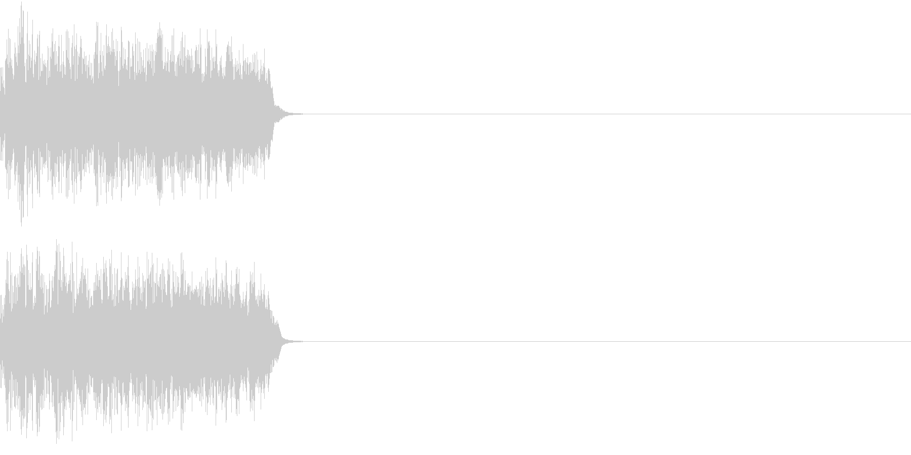 8ビット ファミコン アップ ゲージ2の未再生の波形