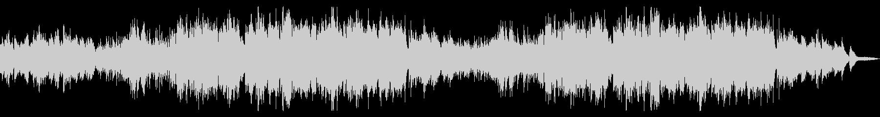 爽やかで透明感のあるシンプルなフルート曲の未再生の波形