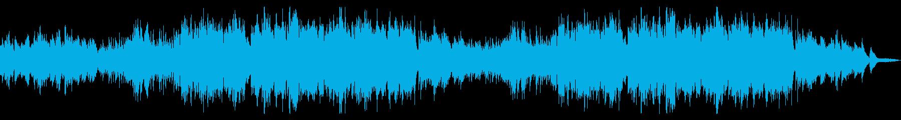 爽やかで透明感のあるシンプルなフルート曲の再生済みの波形