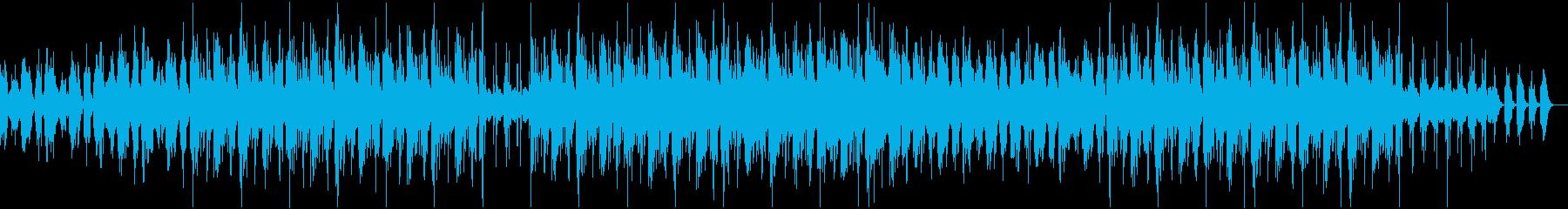 アンダーグラウンドでチルテイストなBGMの再生済みの波形