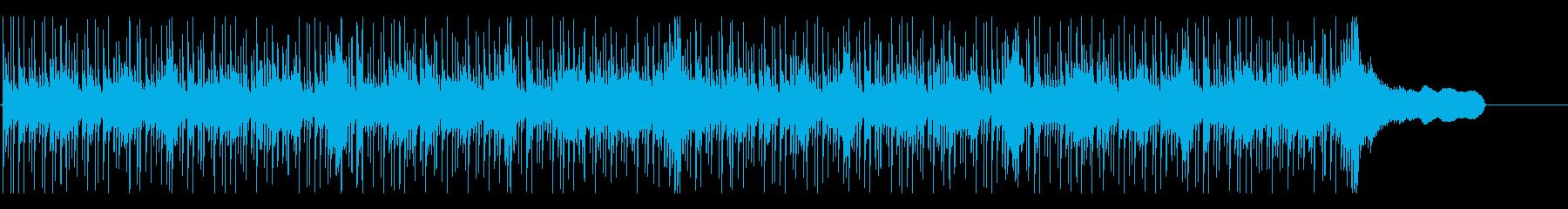 ショートBGM:シリアス・クールの再生済みの波形
