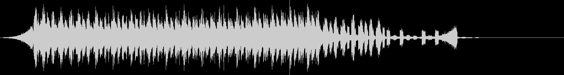 CM明るく爽快軽快ピアノポップジングルaの未再生の波形
