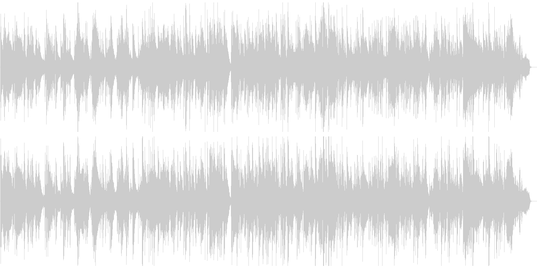 テクニカルな夜の達人系ジャズバラードの未再生の波形