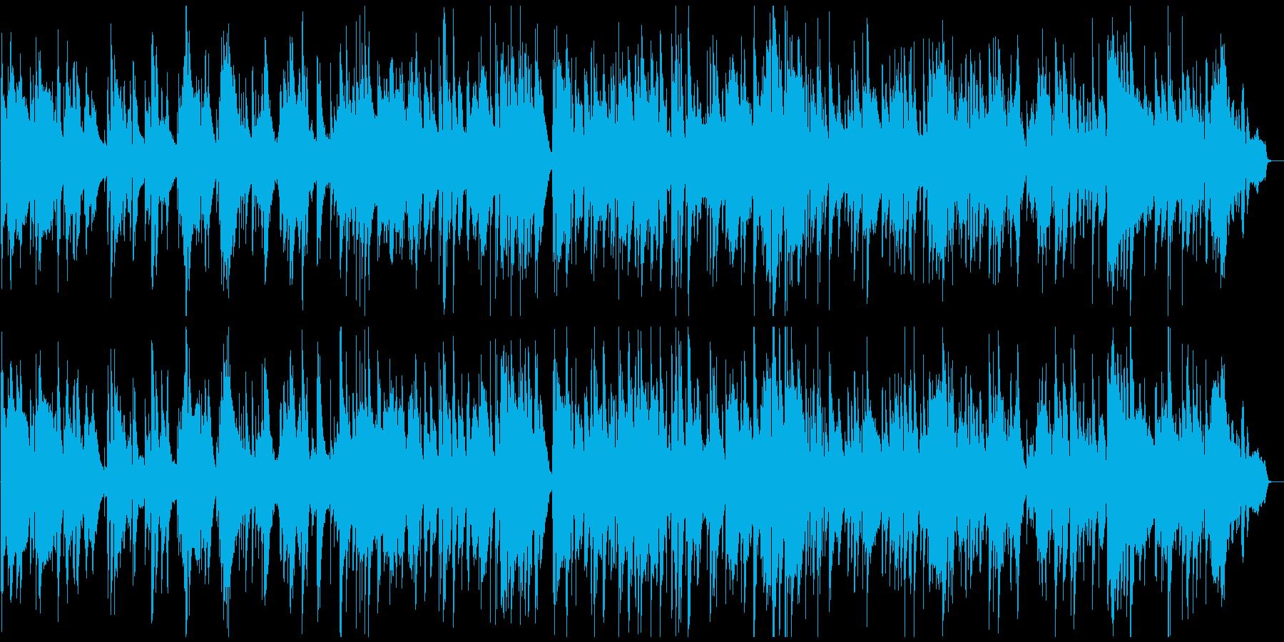 テクニカルな夜の達人系ジャズバラードの再生済みの波形