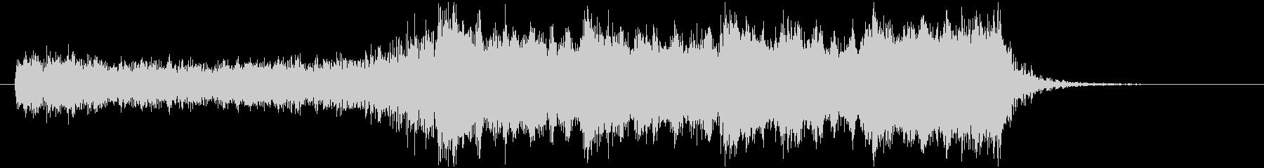 YouTube 結果発表!ドラムロール有の未再生の波形