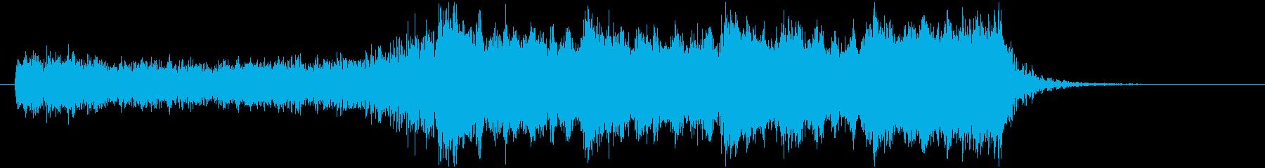 YouTube 結果発表!ドラムロール有の再生済みの波形