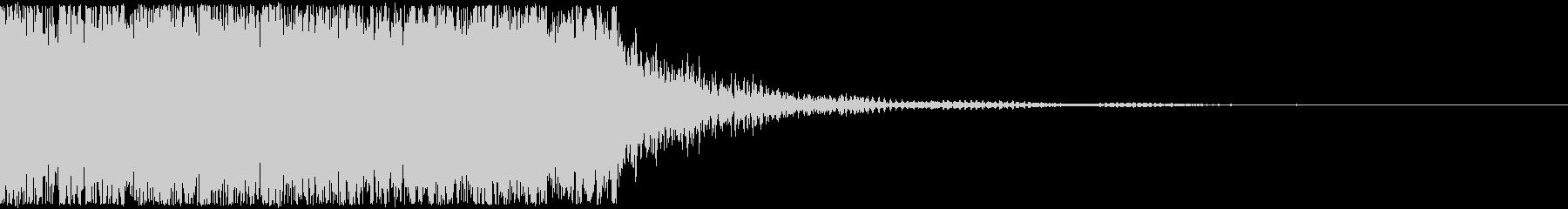 シネマティックなオーケストラ系ジングルの未再生の波形