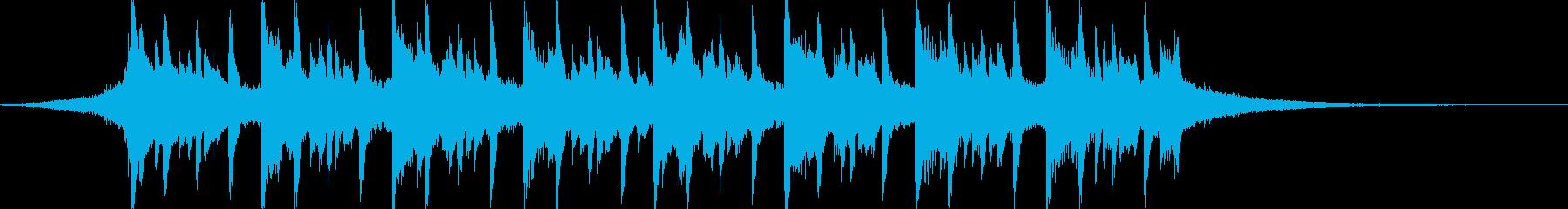 企業や映像/シンプル/4つ打ち/シンセaの再生済みの波形