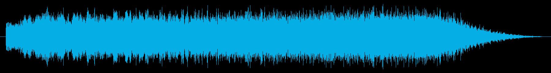 素材 シンセライザー01の再生済みの波形