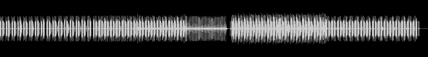 ダーク&クールなヒップホップの未再生の波形